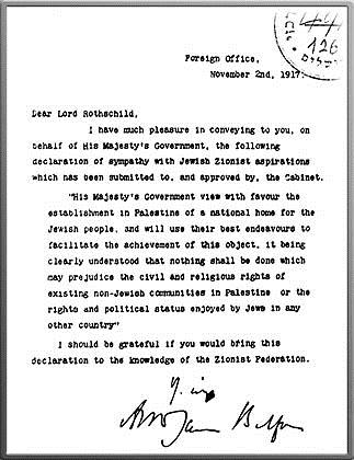 Balfour Declaration Freemasons, the Third Temple, and the Antichrist