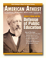 American Atheist Magazine Part One: The Importance of Genesis and a Literal Six Day Creation