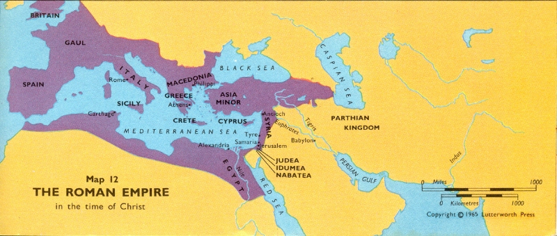 Map Roman Empire4 Freemasons, the Third Temple, and the Antichrist